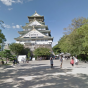 Street view of Osaka Castle