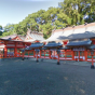 Street view of Kumano Hayatama Taisha(Kumano Kodō) of the world heritage